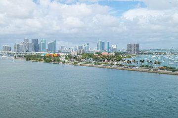 Skyline Miami Beach van Melissa Serlier