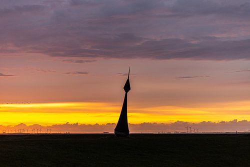 Windwijzer bij Nieuw-Statenzijl