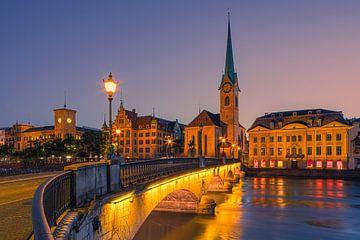 Ein Sommerabend in Zürich