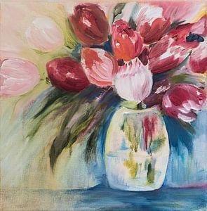 Bunte Tulpen von LovePaintPhoto