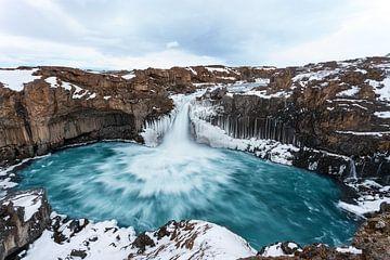 Aldeyjarfoss IJsland van Luc Buthker