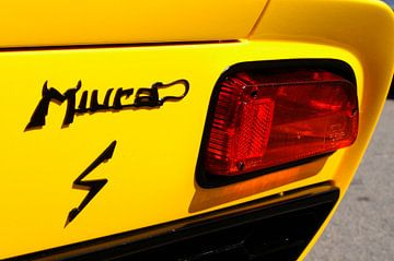 Lamborghini Miura klassieke Italiaanse sportwagen detail van Sjoerd van der Wal