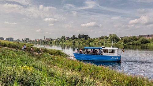 Veerpont bij Geulle aan de Maas