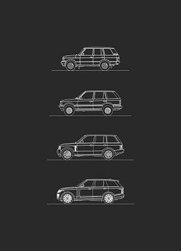 Land Rover Range Rover Evolutie van Artlines Design