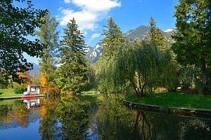 Autumn pond idyll ... van Ioana Hraball