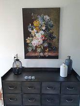 Kundenfoto: Stillleben mit Blumen - Eelke Jelles Eelkema, auf leinwand