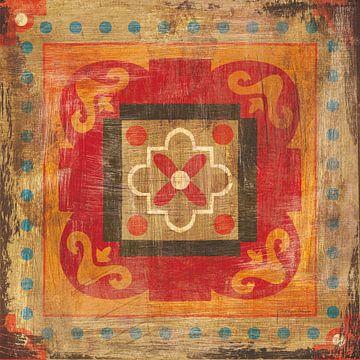 Marokkaanse tegels XII, Cleonique Hilsaca van Wild Apple