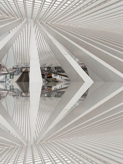 A train abstract van Brian Morgan
