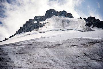 Klimmers onderweg naar de top van
