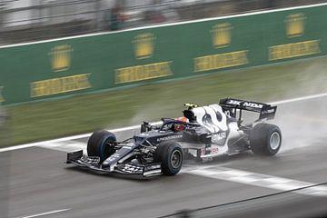 Pierre Gasly F1 GP Spa 2021 van Ann Barrois
