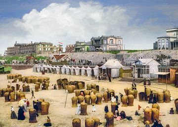 Scheveningen rond 1900 van Arjen Roos