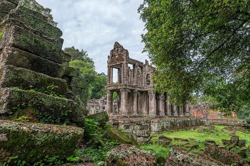 Preah Khan Tempel, Angkor Wat van Richard van der Woude