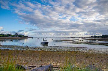 Avondlucht aan de Bretonse kust van Fartifos