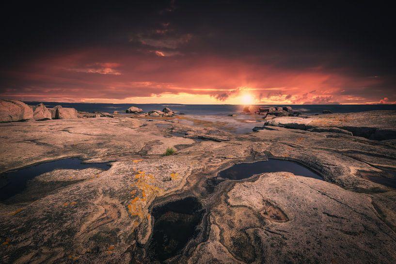 Felsenküste Schweden von Skyze Photography by André Stein