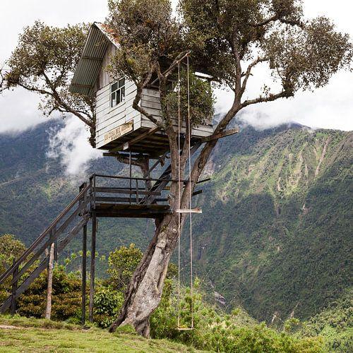 Boomhut in Ecuador - Casa Del Arbol Baños