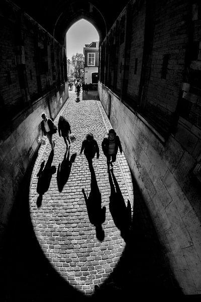 Silhouetten onder de Dom van Dutch StreetPhoto