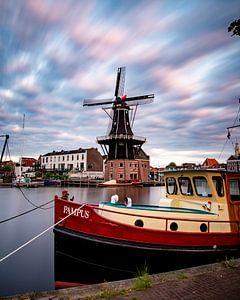 Le moulin à vent de l'Adriaan à Haarlem