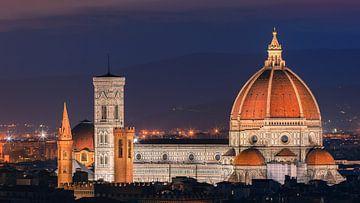 Santa Maria del Fiore, Florence, Italië van Henk Meijer Photography