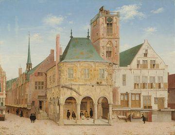 Das alte Rathaus in Amsterdam, Pieter Jansz. Saenredam, 1657