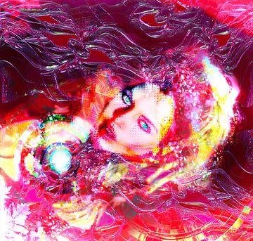 Popart plaatje van Brigitte Bardot van Atelier Liesjes