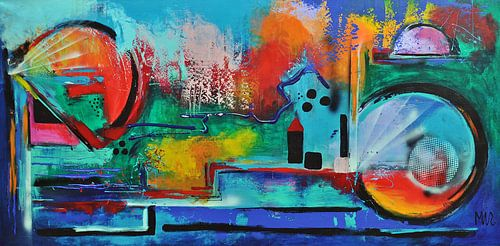 Abstract 5 van Kunstenares Mir Mirthe Kolkman van der Klip