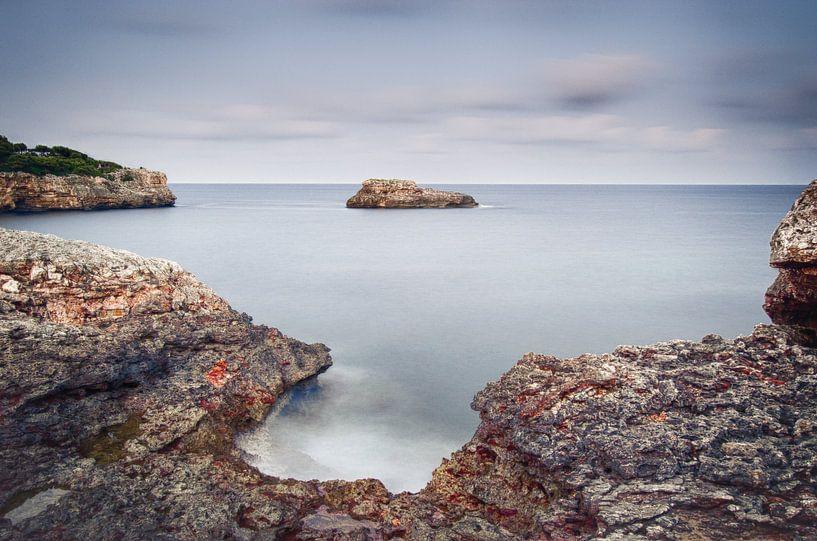 De kust van Mallorca van Mark Bolijn