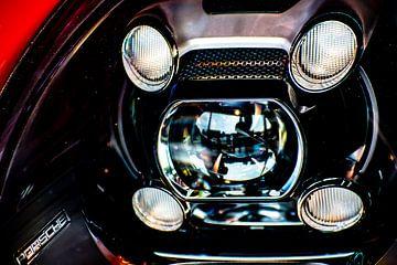 Super Aufnahme einer Porsche Leuchteinheit von Truckpowerr