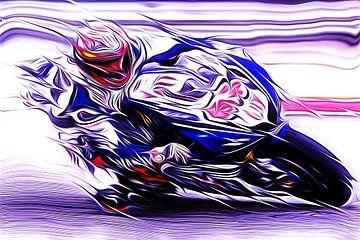 Vollgas auf zwei Rädern von Jean-Louis Glineur alias DeVerviers