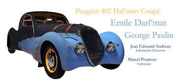 Peugeot 402 Dal'mart Coupé van aRi F. Huber