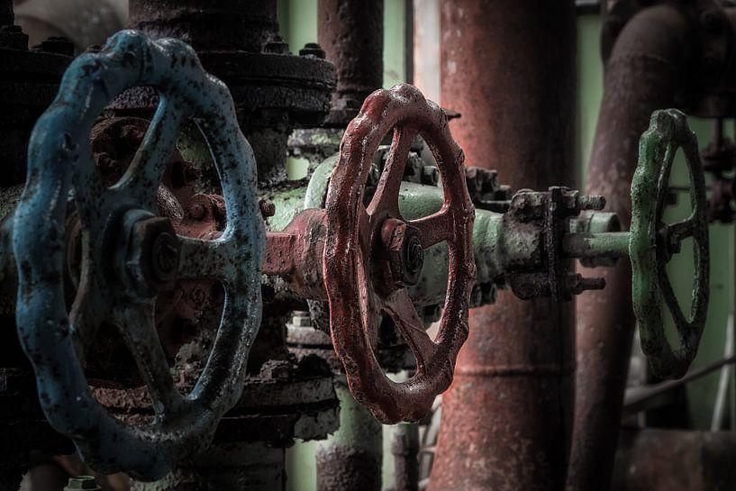 Industriële handwielen van Sander Klein Hesselink