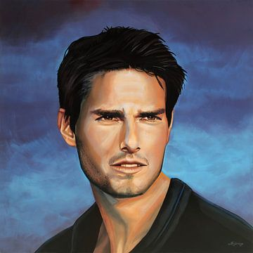 Tom Cruise Gemälde von Paul Meijering