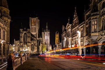 Sint Niklaaskerk te Gent van Erwin van den Berg