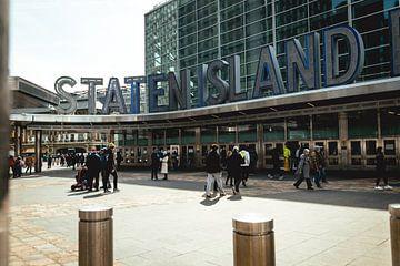 Ferry de Staten Island sur Eva Ruiten