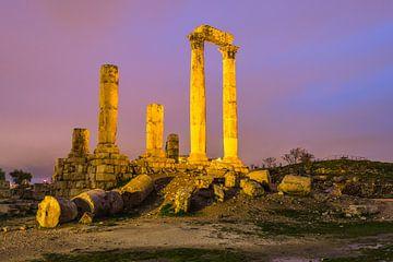 Tempel van Hercules in Amman, Jordanië