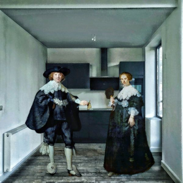 Marten en Oopjen's nieuwe keuken van Ruben van Gogh