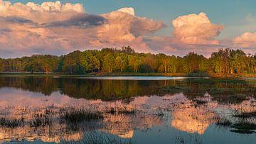 Zonsondergang in Nationaal Park het Dwingelderveld