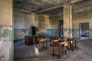 Verlaten plaats - School