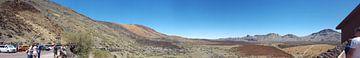 Panorama van El Teide Tenerife  van Ken Hendriks