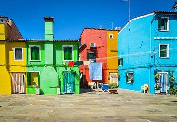 Venetië, Burano, La bella Italia