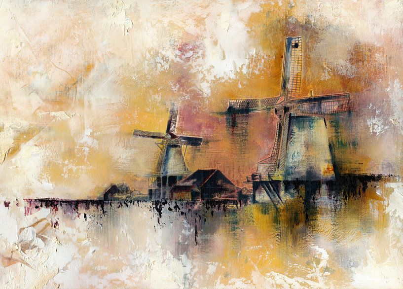 Windmühlen von Maria Kitano