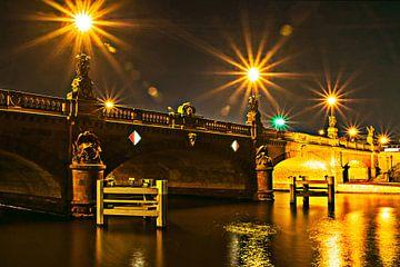 Moltke-Brücke an der Berliner Spree  von Silva Wischeropp