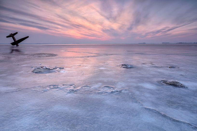 Ijzig Harderwijk in pastelkleuren van Dennisart Fotografie