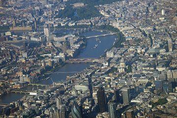 Londen vanuit de lucht van