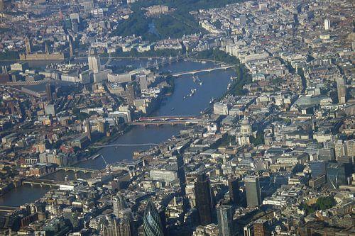 Londen vanuit de lucht van Anouk Davidse