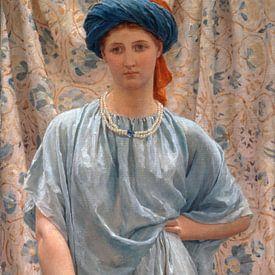 Albert Joseph Moore. Saffieren van 1000 Schilderijen