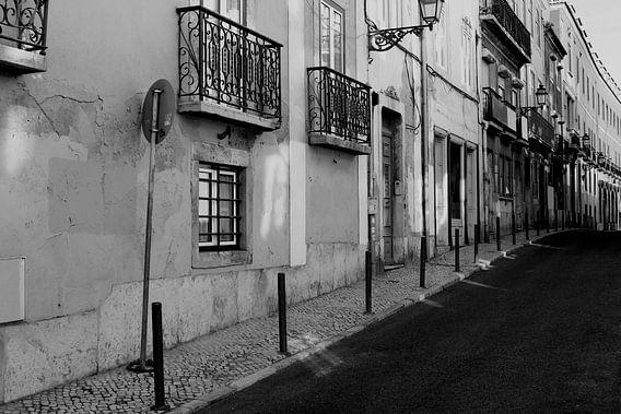 Oude sfeer in Lissabon