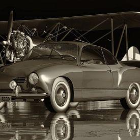 Volkswagen Karmann-Ghia de 1959 : une voiture légendaire sur Jan Keteleer