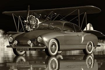Volkswagen Karmann-Ghia de 1959 : une voiture légendaire