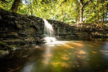 Waterfall Latvia van Stijn Vanoverbeke