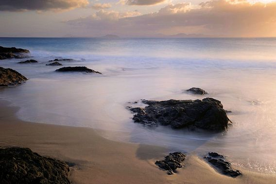 Papagayo beach van Paul Arentsen
